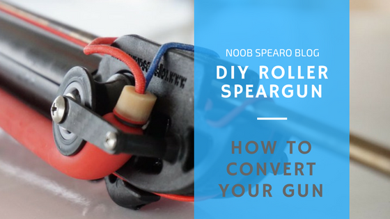 how to make a manny sub roller power head speargun