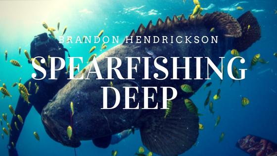Spearfishing deep with Brandon Hendrickson