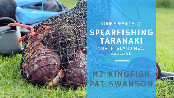 spearfishing taranaki new zealand