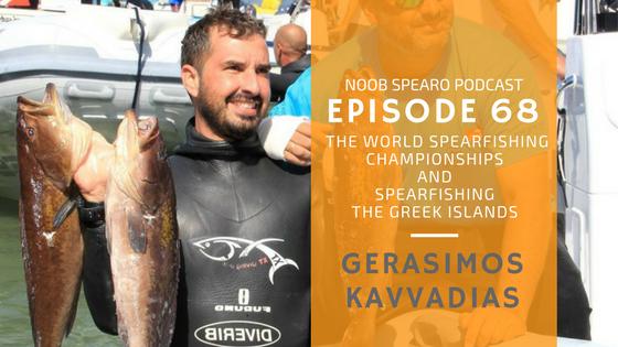 spearfishing the greek islands. Gerasimos Kavvadias