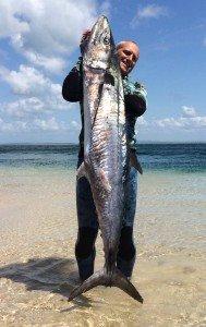 Richard Pillans King Mackerel Spearfishing, King Fish Spearfishing, Spanish Mackerel Spearfishing Hunting techniques