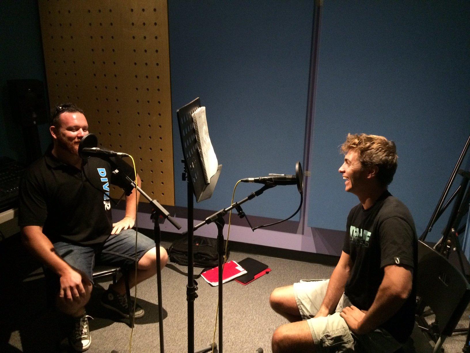 Noob Spearo Spear Fishing Podcast Studio