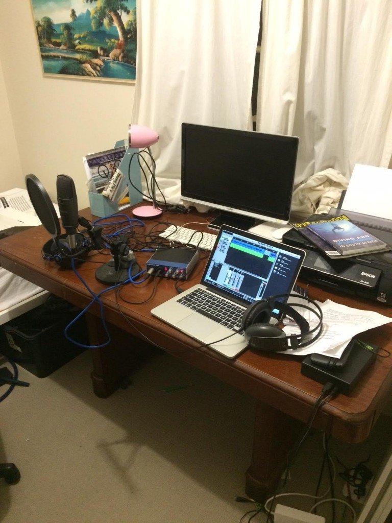 Noob Spearo Podcast Studio