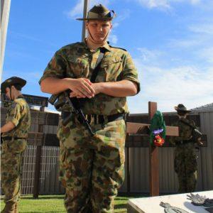 Pete Morris ADF Cadet