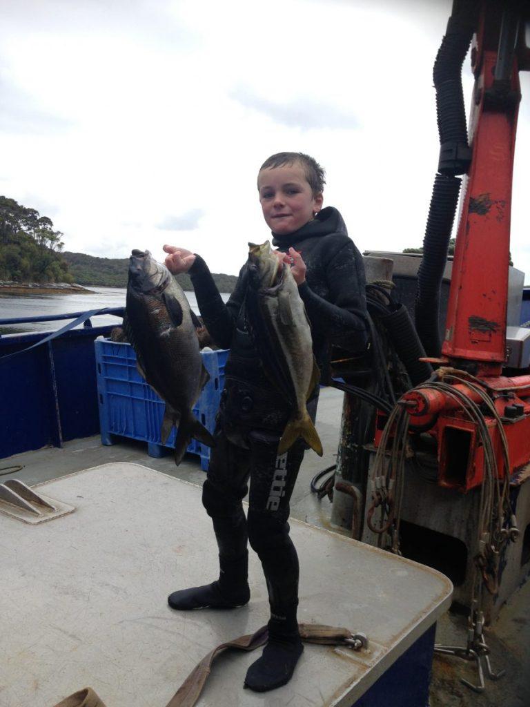Dwayne Herbert Spearfishing New Zealand