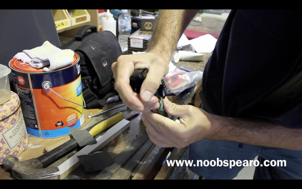 Manny Sub Roller Power Head Conversion. DIY Roller Speargun
