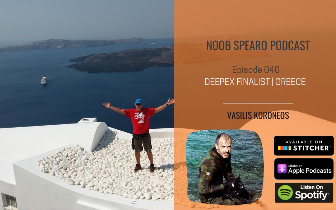 NSP:040 Vasilis Koroneos Greek Deepex Finalist