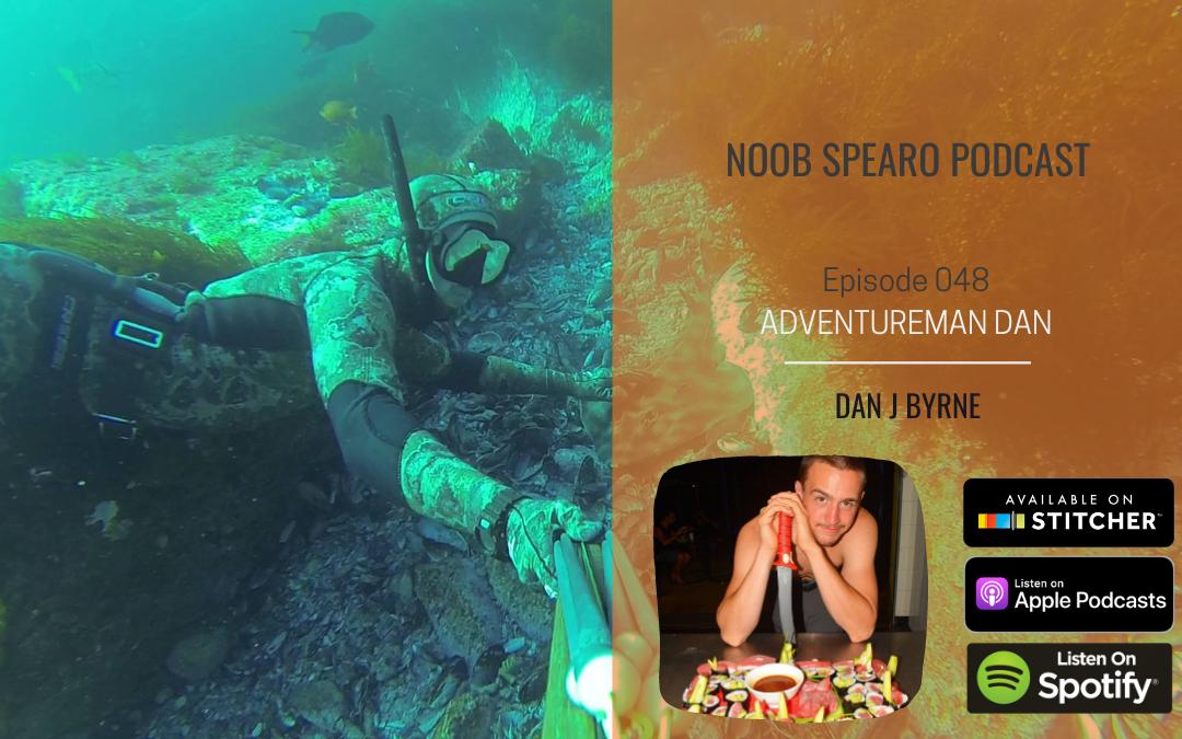 NSP:048 Spearfishing Adventureman Dan Byrne
