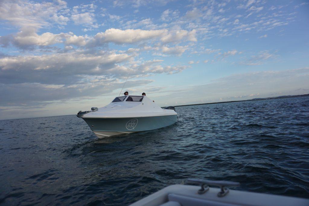 Beaus Boat. Coastal Bar Crossing with Bill Corten