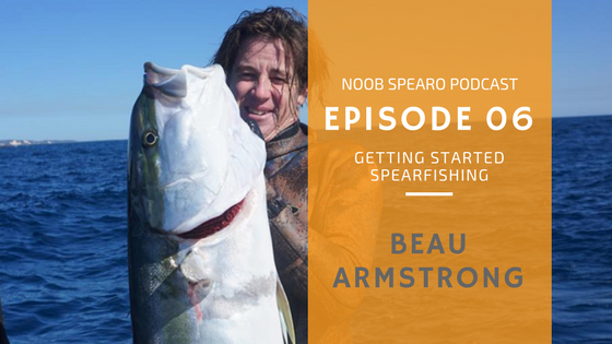 how to get started spearfishing beau armstrong