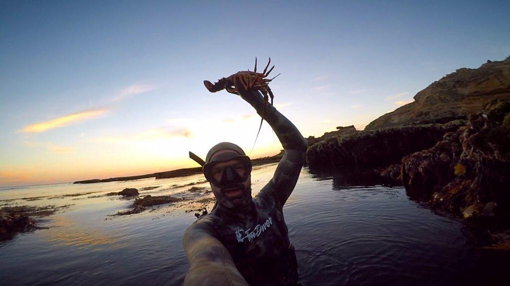 Interview with Eckart Berkenstein pictured with Crayfish. We discuss catching crayfish.