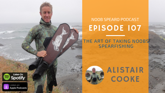 Alistair Cooke The Art of Taking Noobs Spearfishing