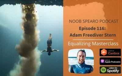 NSP:116 Adam Freediver Stern | Equalizing Masterclass