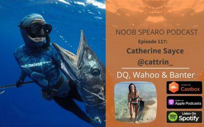 NSP:117 Catherine Sayce | New Zealand's most disqualified spearfisherwoman