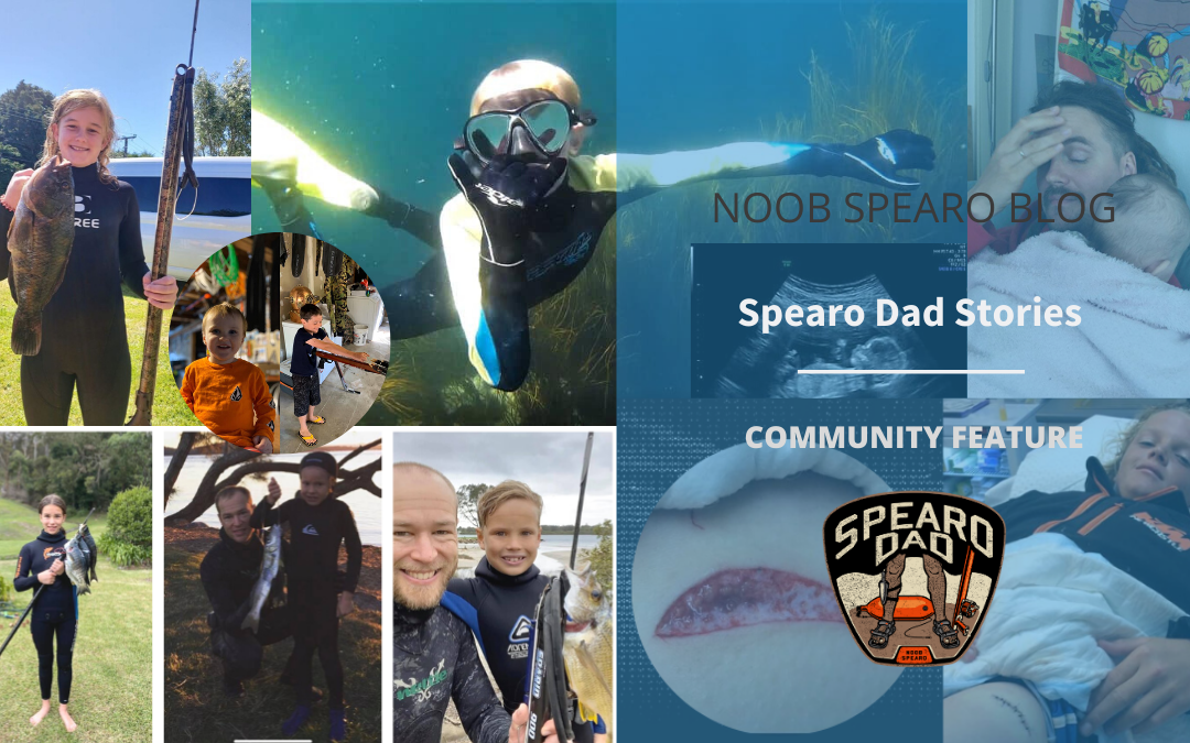Spearo Dad. Stories from spearfishing families