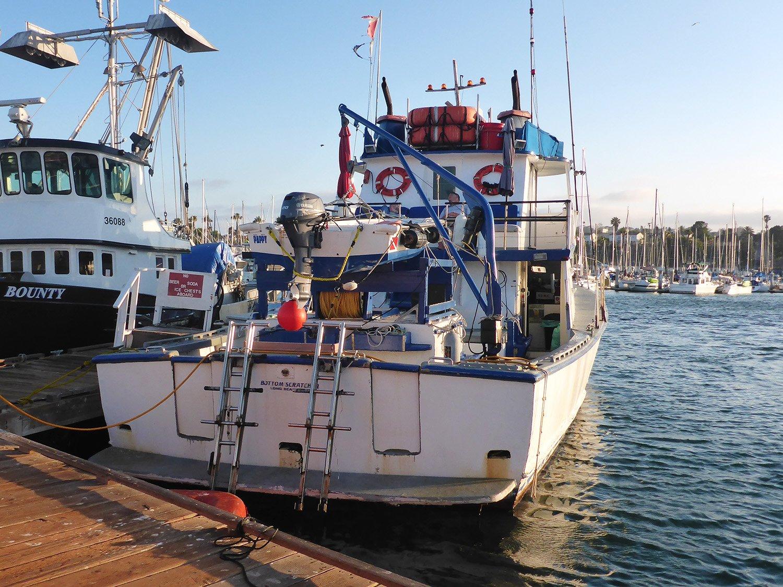 Bottom Scratcher Dive Boat Ladders