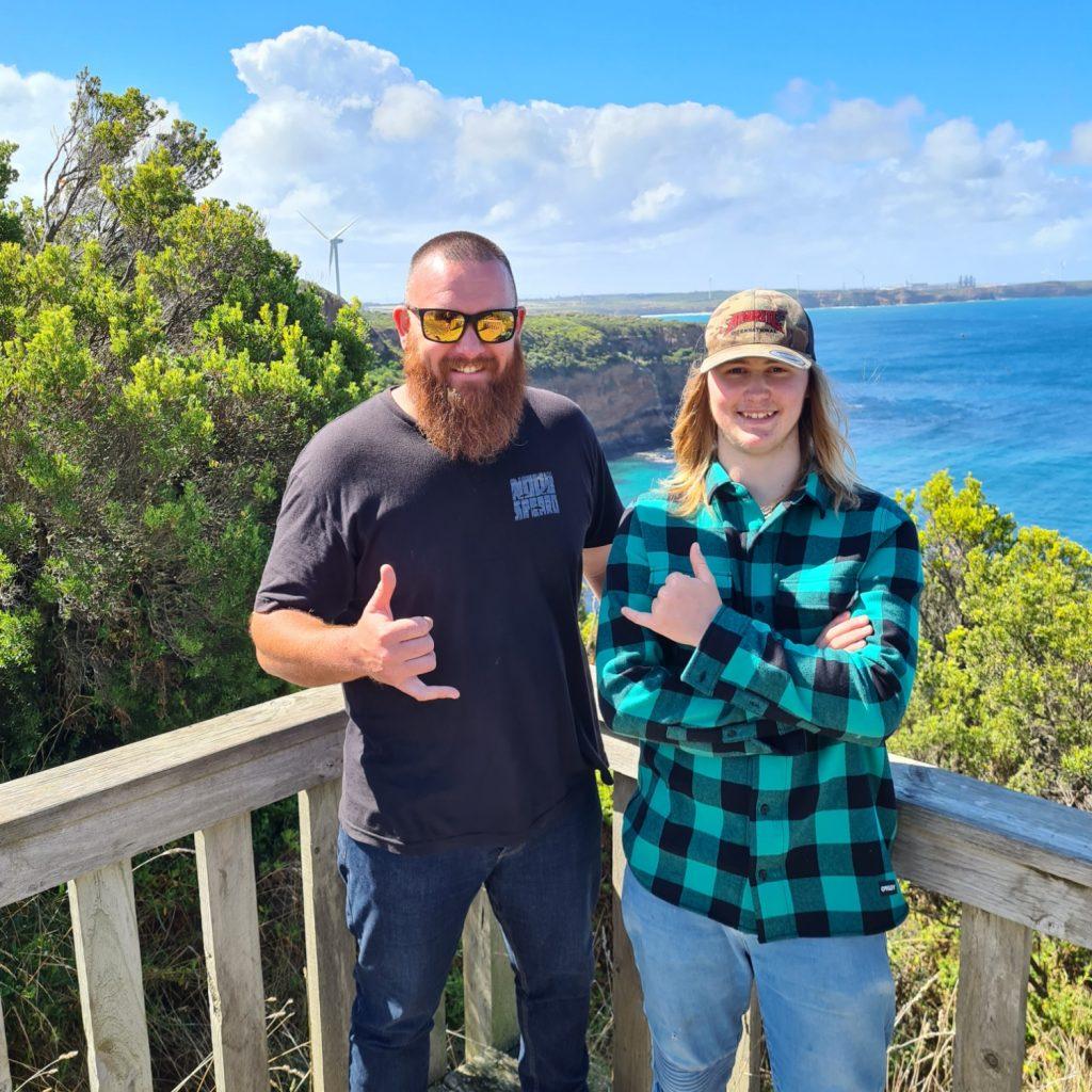 NSP:155 Aaron Edmonds the 17 y/o Slaying Spearfishing Statesman with Isaac Daly aka Shrek from Noob Spearo in Portland, Victoria