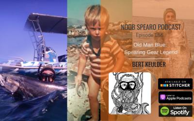 NSP:156 Bert Keulder – The Old Man Blue: Spearing Gear Legend