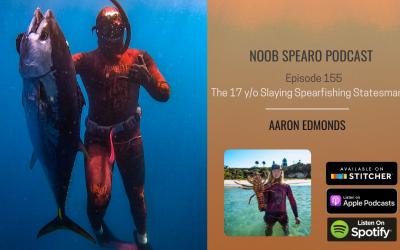 NSP:155 Aaron Edmonds the 17 y/o Slaying Spearfishing Statesman