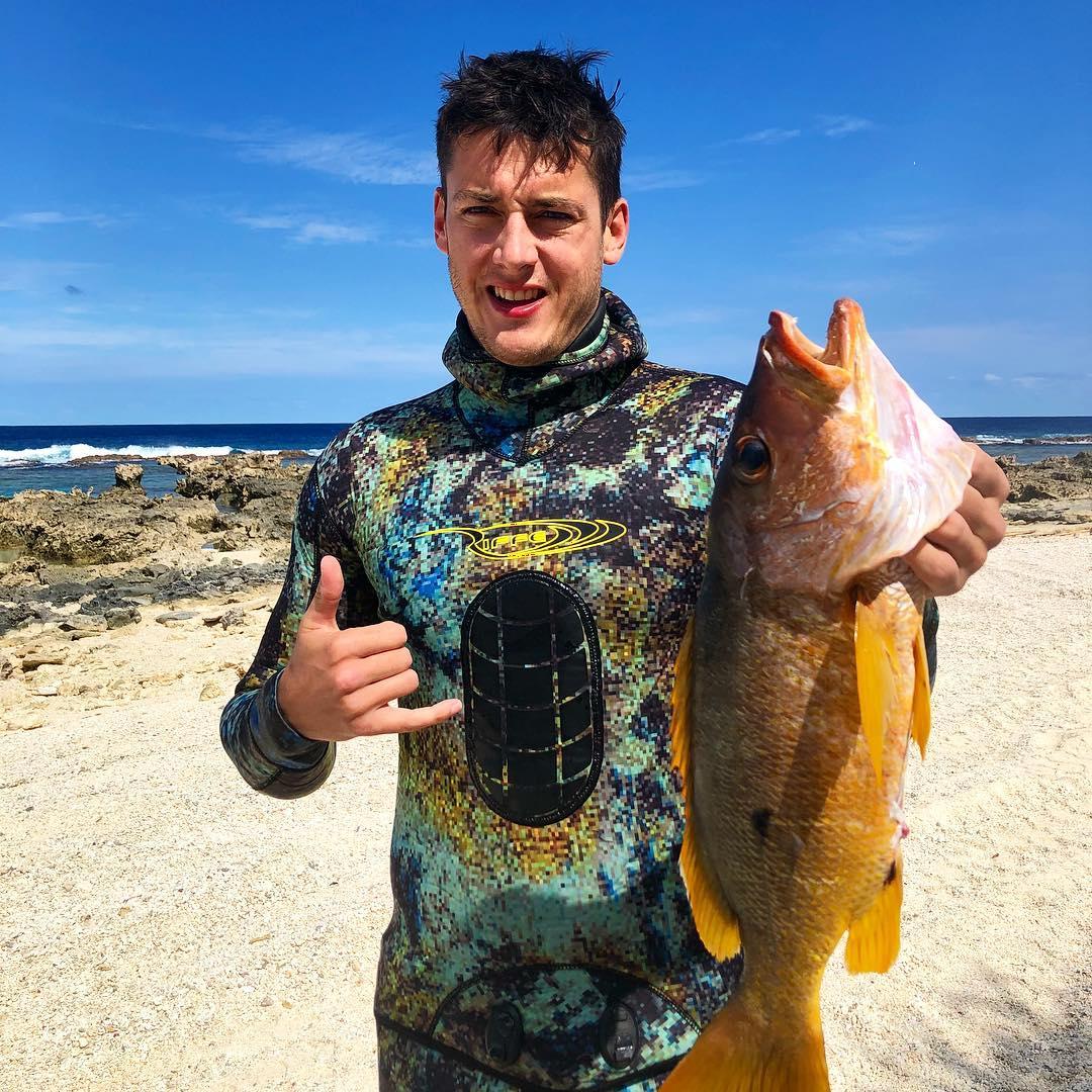 Sam in Tonga