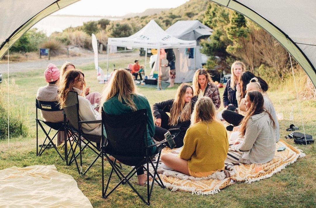 Salt sisters camp