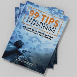 99 Tips to Get Better at Spearfishing | Soft Cover. Actionable information to improve your spearfishing